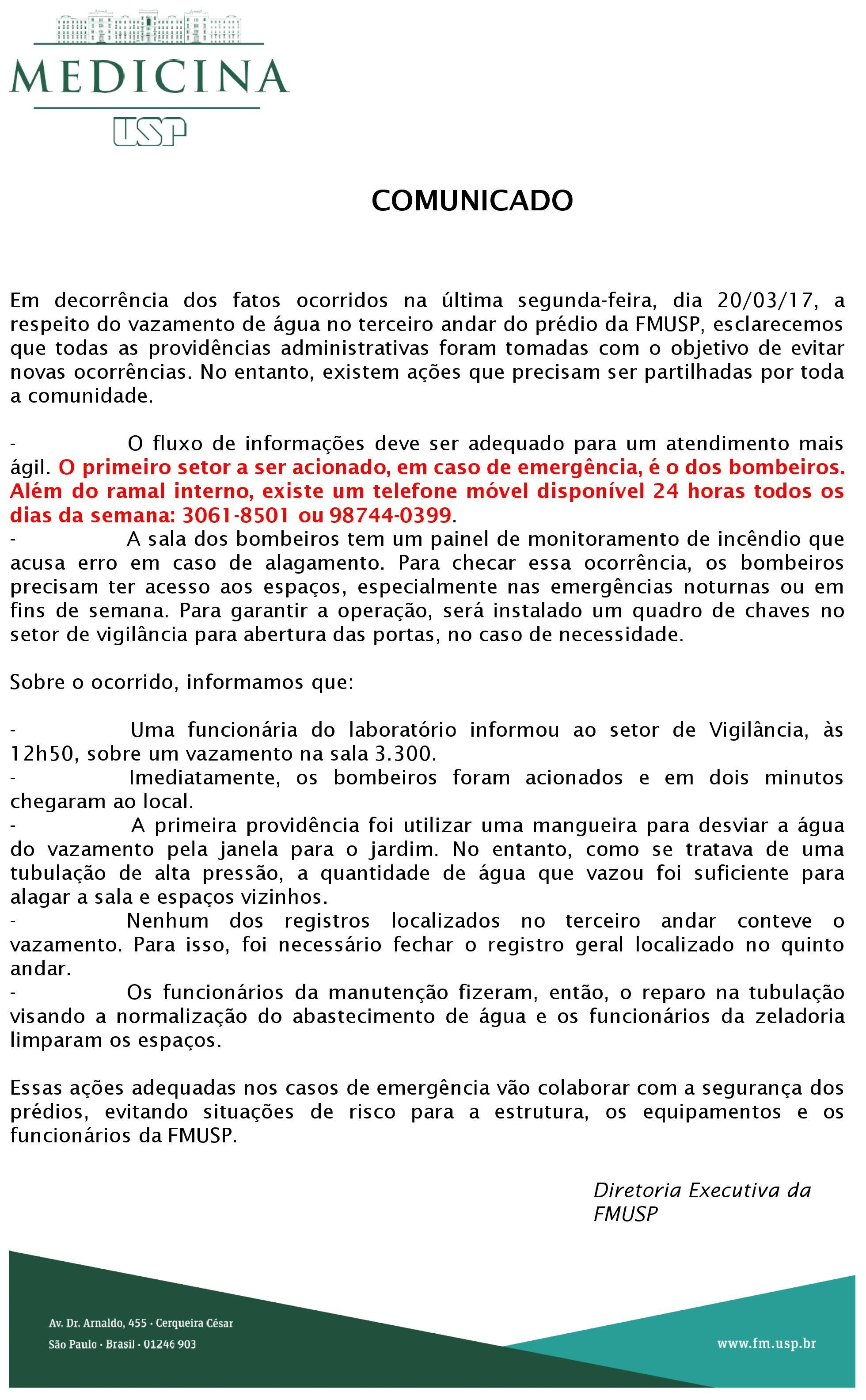 Comunicado_Procedimentos_Emergenciais_Destaque_2017
