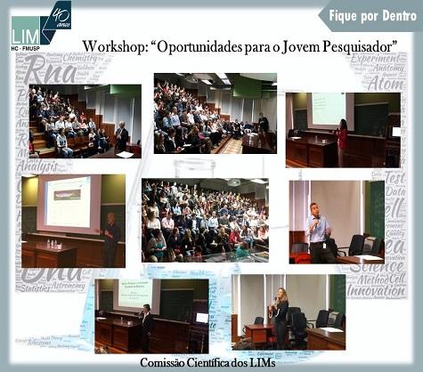 """Evento """"Oportunidades para o Jovem Pesquisador"""" - Geraldo Busatto Filho (Diretor Executivo dos LIMs)"""