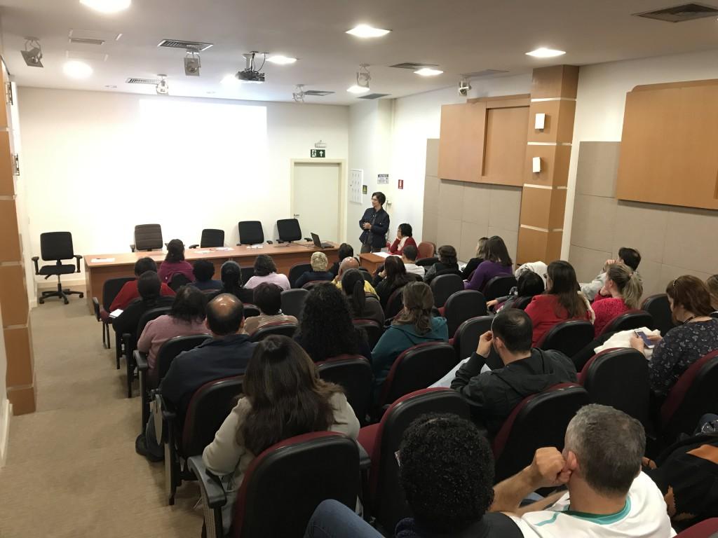 III Encontro do Grupo dos facilitadores, realizado no dia 20 de junho desse ano (Foto: Arquivo da Gerência Técnica dos LIMs).